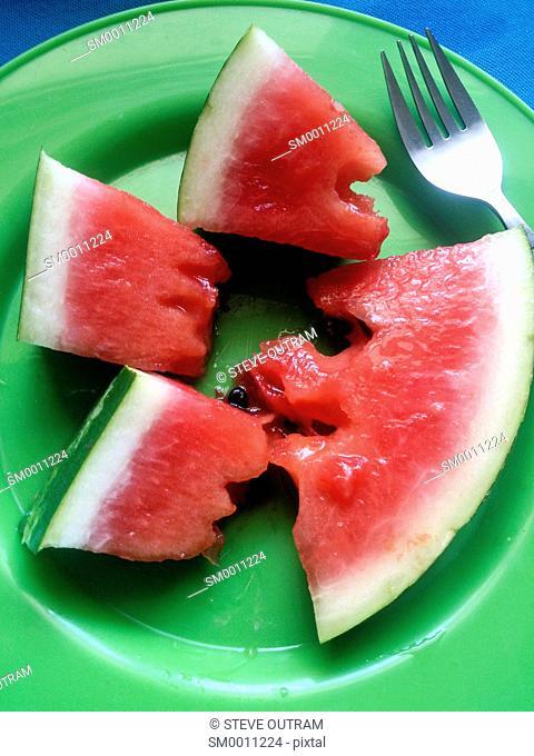 Watermelon, Crete, Greece