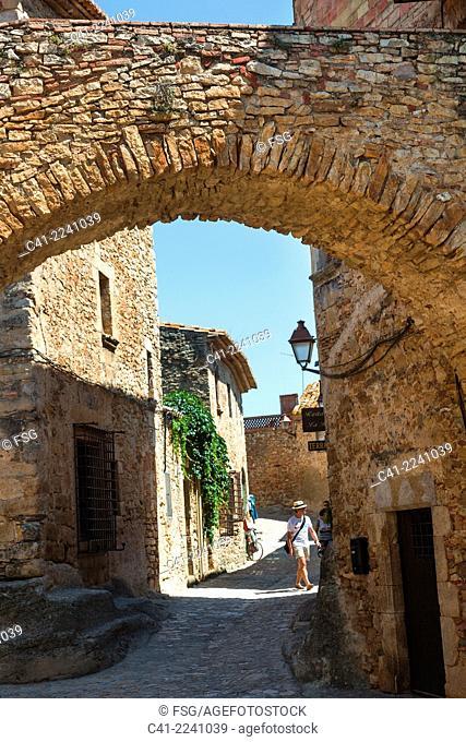 Peratallada. Girona, Costa Brava, Spain