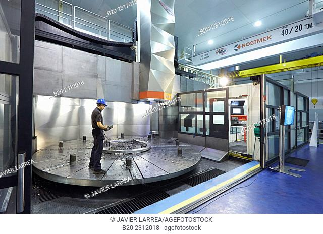 Machining Center. CNC. Vertical lathe. Design, manufacture and installation of machine tools. Bost Machine Tools Company. Asteasu. Gipuzkoa