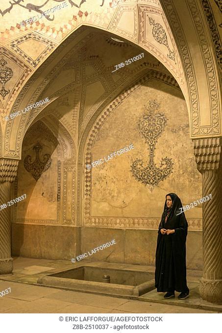Iran, Fars Province, Shiraz, karim khan fort bath