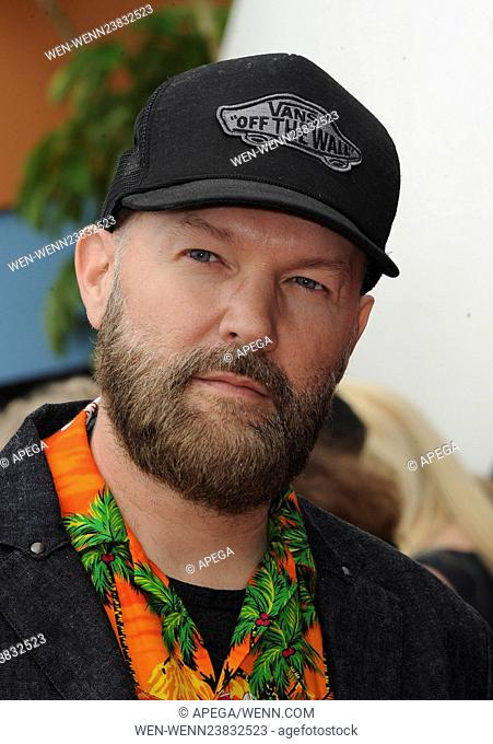 6bb07d80d4984  The Angry Birds Movie  LA premiere at the Regency Theater Featuring  Fred  Durst