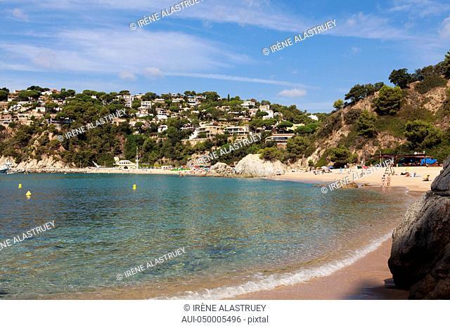 Spain - Costa Brava - Lloret de Mar - Cala Canyelles
