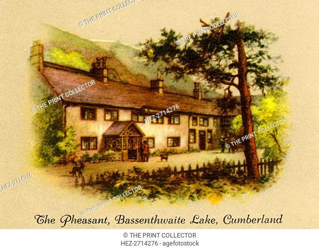 'The Pheasant, Bassenthwaite Lake, Cumberland', 1936. Creator: Unknown