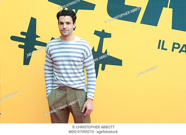 American actor Christopher Abbott attends the Sky TV series Catch-22 photocall. Rome (Italy), May 13th, 2019