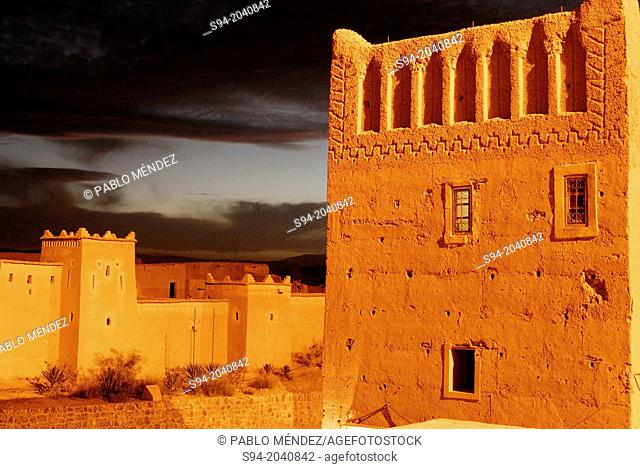 Casbah of Taourirt in Ouarzazate, Morocco
