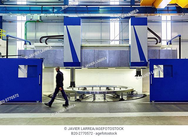 Machining Centre, CNC, Vertical lathe, Design, manufacture and installation of machine tools, Gipuzkoa, Basque Country, Spain, Europe