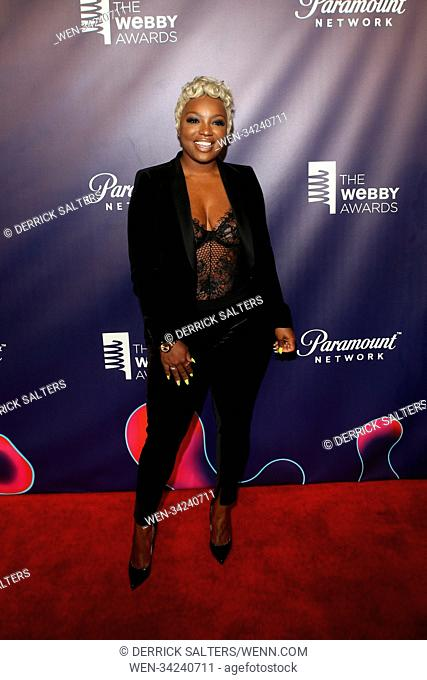 The 22nd Annual Webby Awards, hosted by comedian Amber Ruffin Held at Held at Cipriani Wall Street Featuring: Tiarra Monet Where: New York, New York