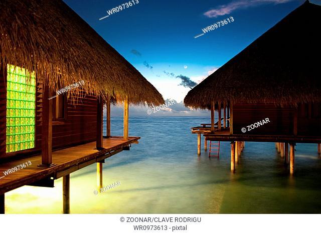 Maldives Bungalow Waterbungalow