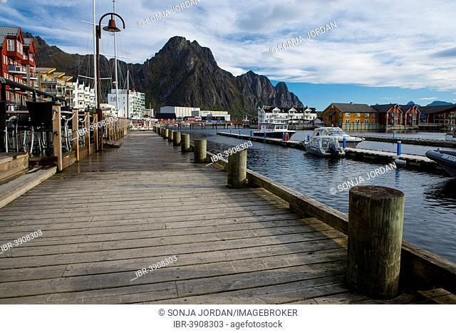 Harbour, Svolvær,Vågan, Lofoten, Norway
