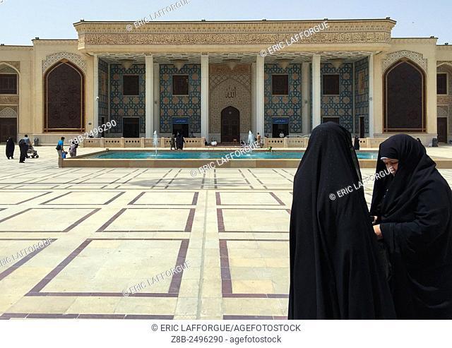 Iran, Fars province, Shiraz, the shah-e-cheragh mausoleum