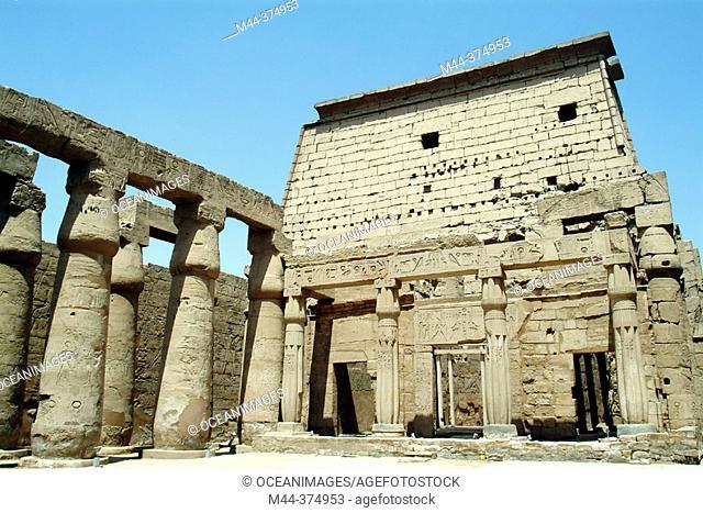 Luxor temple. Egypt