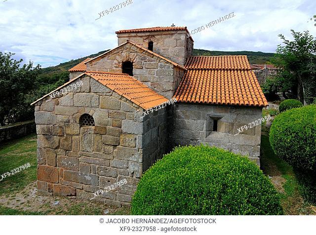 Visigothic church of Santa Comba in Bande.Ourense.Galicia.Spain