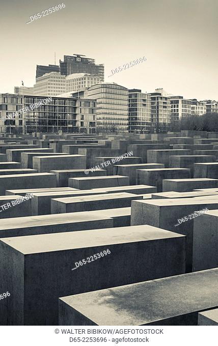 Germany, Berlin, Mitte, Holocaust Memorial