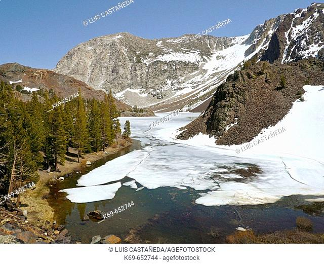 Tenaya Lake, Yosemite National Park. California, USA