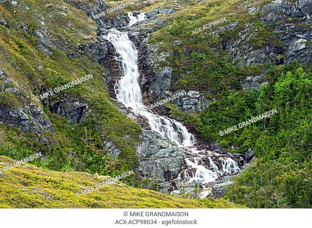 Barachois Falls Near Rose Blanche Newfoundland & Labrador Canada