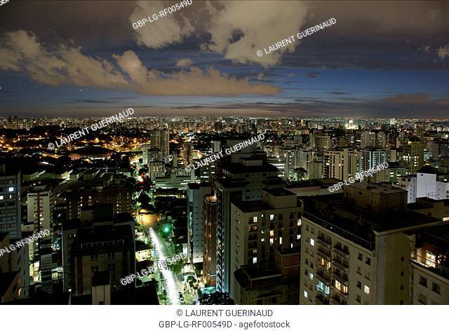 City, Antennas, São Paulo, Brazil