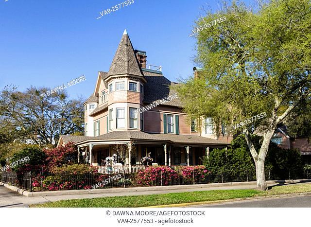 The Bailey House, Circa 1895, Fernandina Beach, Florida