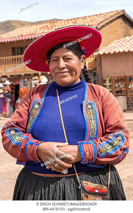 Native woman, Queromarca, Cusco Province, Peru