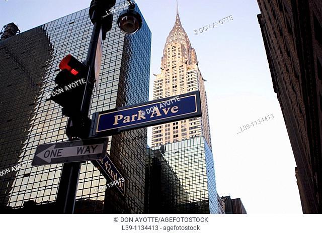 Park Avenue, New York City, USA