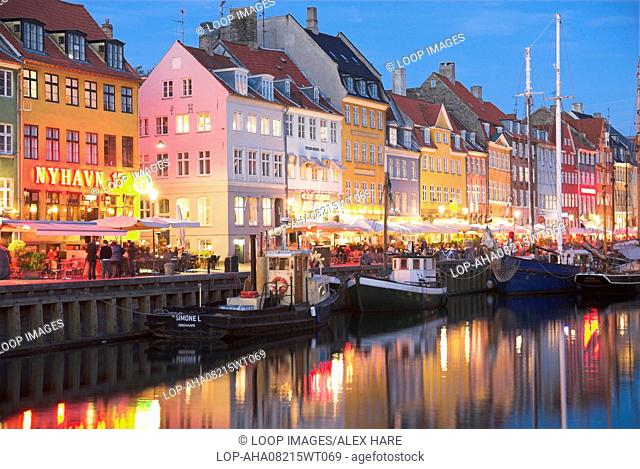 Nyhavn Harbour in Copenhagen