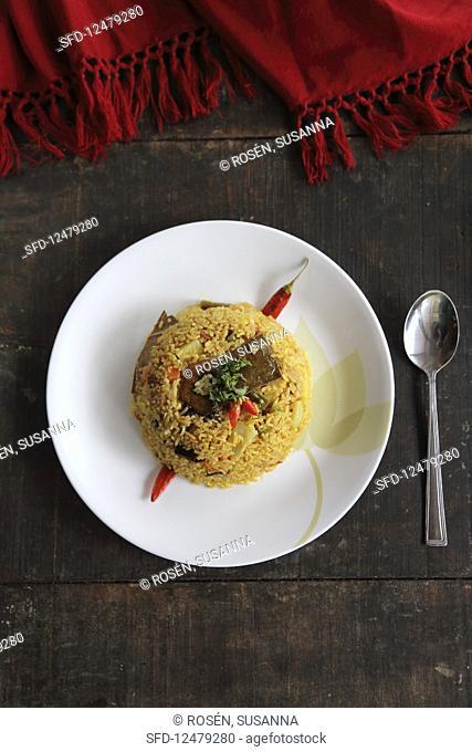 Biryani (rice dish, Asia)