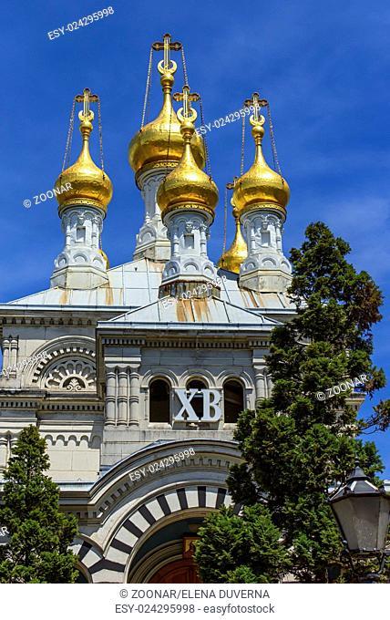 Russian or orthodox church, Geneva, Switzerland