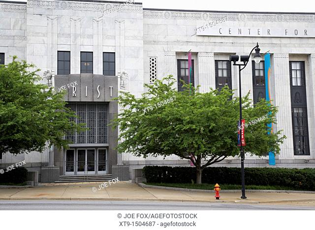 FRIST center for the visual arts building Nashville Tennessee USA