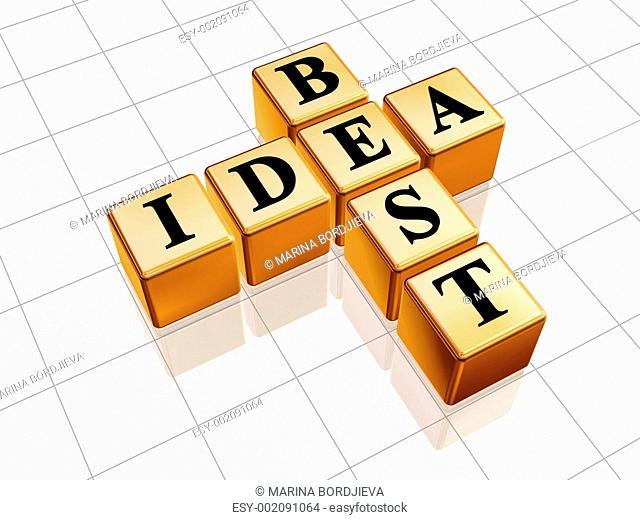 golden best idea like crossword