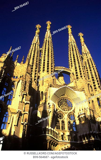 Sagrada Familia, Barcelona, Catalunya, Spain