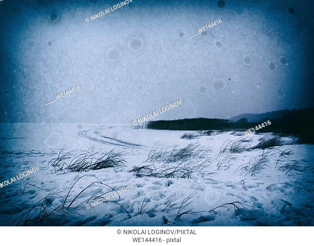 Horizontal winter river abstraction