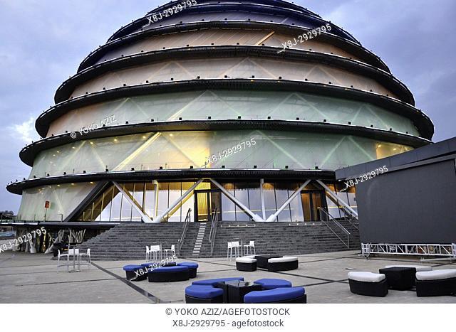 Rwanda, Kigali, Radisson htl and convention center