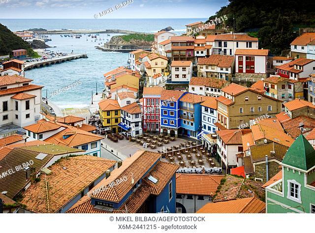 Cudillero village. Asturias, Spain, Europe
