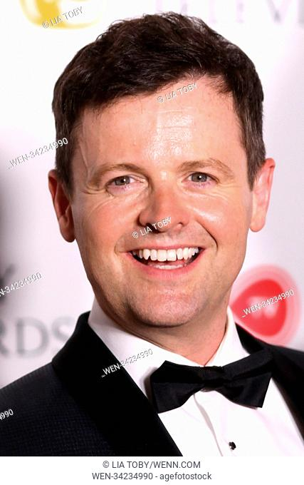 Virgin TV British Academy (BAFTA) Television Awards Winner Room Featuring: Declan Donnelly Where: London, United Kingdom When: 13 May 2018 Credit: Lia Toby/WENN
