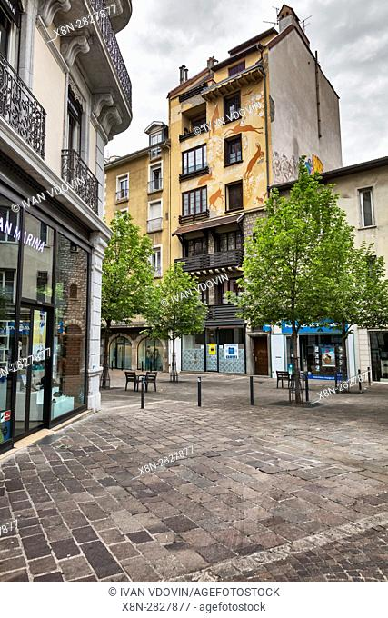 Grenoble, Rhone-Alpes region, department of Isere, France