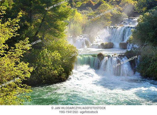 Croatia - Krka National Park, cascades on the Krka River, Croatia