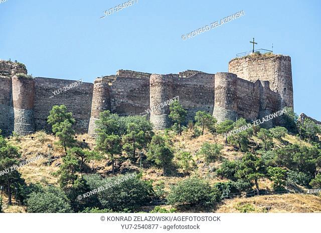 Narikala Fortress in Tbilisi, capital of Georgia