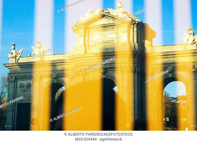 Puerta de Alcalá. Madrid. Spain