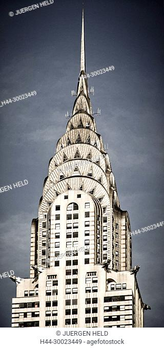 Chrysler building, vertical, New York