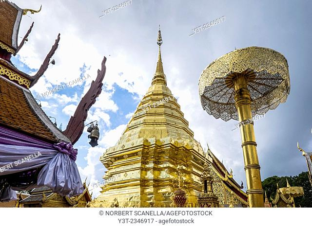 Asia. Thailand, Chiang Mai. Wat Doi Suthep