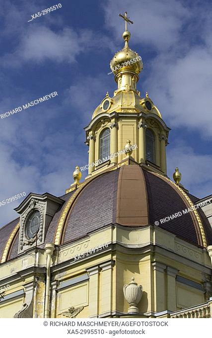 Belfry, SS Peter and Paul Cathedral, St Petersburg, UNESCO World Heritage Site, Russia