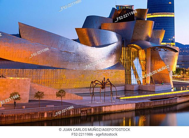 Gugghenheim museum, Bilbao, The Basque Country, Spain, Europe