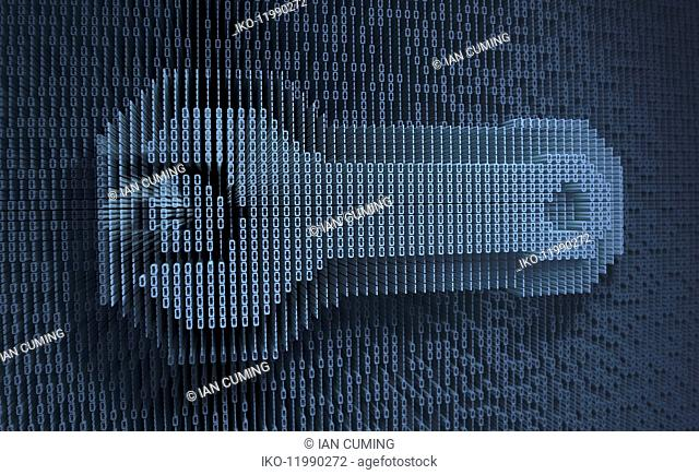 Spanner in three dimensional binary code