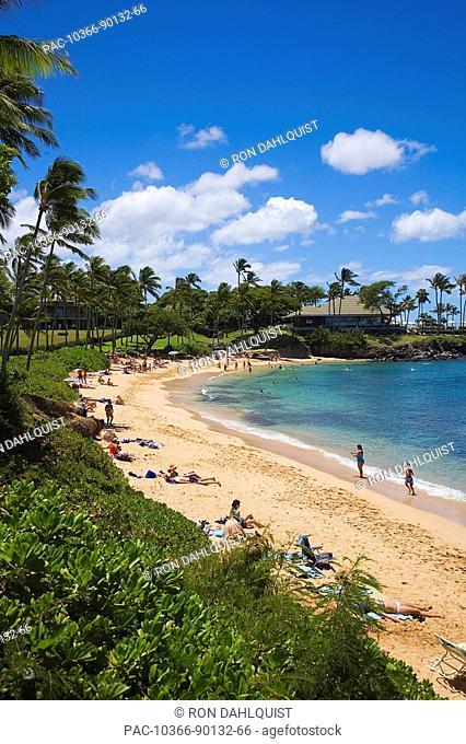Hawaii, Maui, Kapalua Beach resort