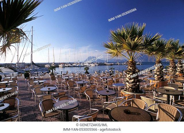 Marina, O Lagios Snack Bar, exterior , Greece, Peloponnese, Patras