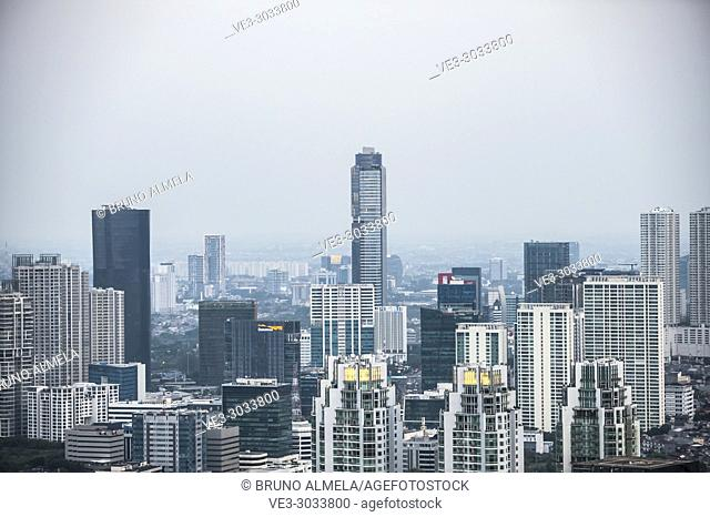 Jakarta skyline (Special Capital Region of Jakarta, Java, Indonesia)