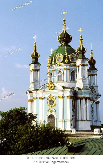 St. Andrew Church. Kiev. Ukraine