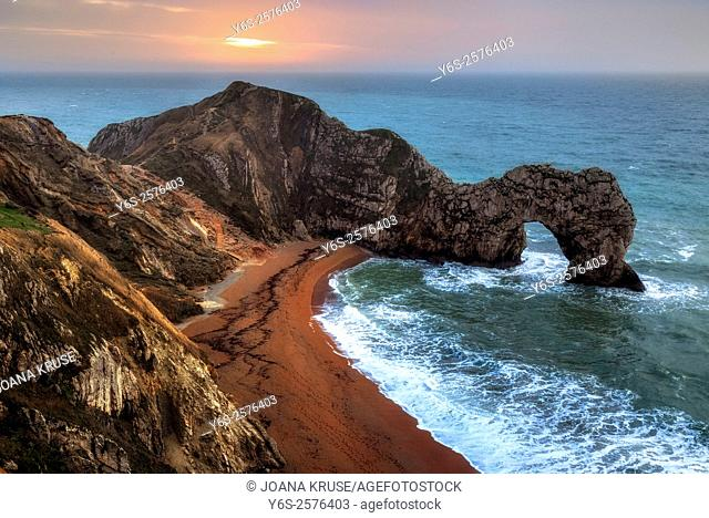 Durdle Door, Lulworth, Dorset, England, UK