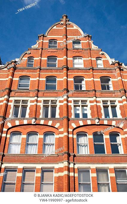 Dulverton Mansions, Gray's Inn Road, Holborn, London, UK