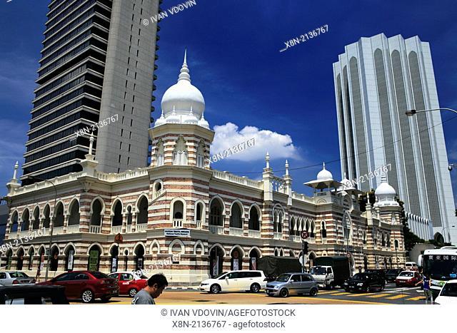 Textile Museum, Merdeka square, Kuala Lumpur, Malaysia