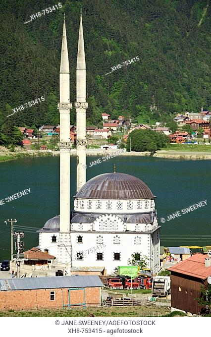Ulu Mosque, Uzungöl (Long Lake), Trabzon. Turkey
